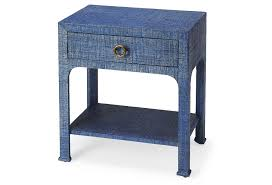 One Kings Lane Sofa by Patrice Bone Inlay Nightstand Handcrafted Gray By One Kings