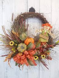 thanksgiving wreath how to make a thanksgiving pumpkin decor wreath
