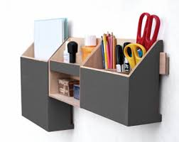 Office Desk Accessories Set Desktop Organizer Etsy