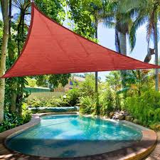 Porch Sun Shade Ideas by Triangle Canopy Outdoor Best 25 Triangle Sun Shade Ideas On