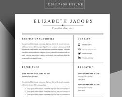 Template Professional Resume Resume Template Professional Resume Template Cv By Chedonresume