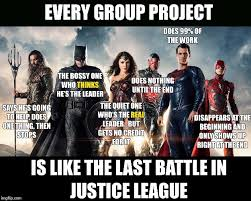 Justice League Meme - every group project imgflip