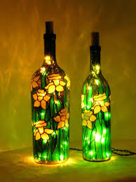 Wine Bottle Home Decor Make Your Own Home Decor With Glass Bottles It U0027s Really Fun To