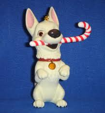 grolier disney bolt dog president u0027s edition ornament mint in box