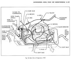 evaporator air conditioning wiring diagram for 1959 chevrolet