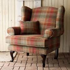 Tartan Armchairs Red Wing Chair Foter