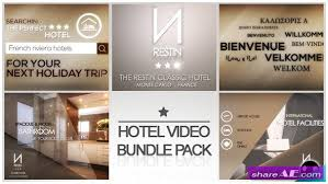 hotel video bundle pack after effects project videohive free