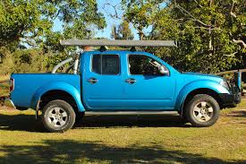blue nissan truck nissan navara d40 dual cab blue 54648 superior customer vehicles