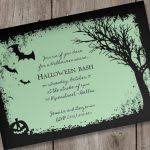 free halloween birthday invitation templates printable orax info