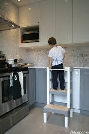 cuisine pour enfants fabriquer un tabouret de cuisine pour enfant déconome