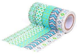 washi tape amazon com hiart repositionable washi tape southwest sizzle