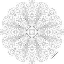 happy mandala print color jpg transparent