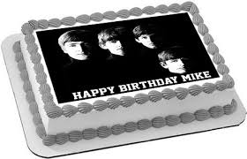 beatles cake toppers beatles edible birthday cake topper