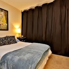 Bedroom Wall On Rail Divider Amazon Com Roomdividersnow Muslin Room Divider Curtain 8ft Tall