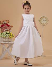 simple communion dresses affordable simple taffeta tea length holy communion dresses