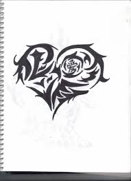 kumpulan ikan 2000 heart tattoo designs gallery