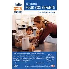dvd recettes de cuisine julie cuisine 40 recettes pour vos enfants coffret dvd dvd