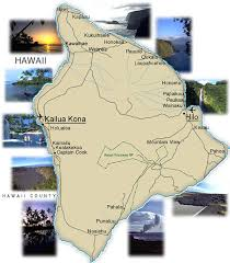map of hawaii big island hawaiian store big island of hawaii map