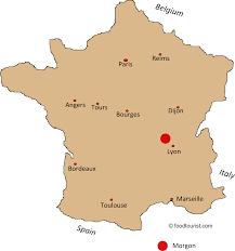Italy France Map by Lyon France Map Recana Masana