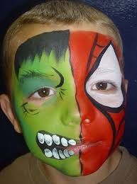 25 face painting spiderman ideas superhero