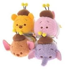 winnie pooh bee flower disney tsum tsum