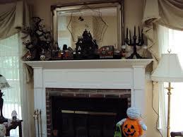 halloween spider web decorations white halloween mantle decorations mixed rectangular framed mirror