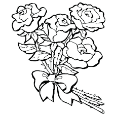 coloring pages with roses valentine hearts coloring pages plus roses and hearts coloring pages