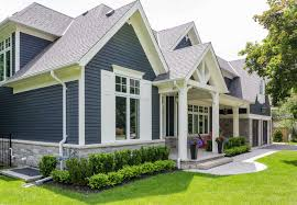 blue house white trim exterior paint colors with white trim dayri me