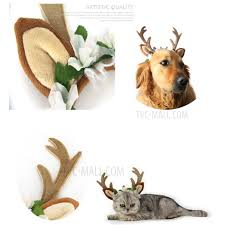 deer headband christmas fawn horn headband deer antler hair hoop with flowers
