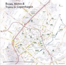 Copenhagen Map Copenhagen Transport Map Copenhagen U2022 Mappery