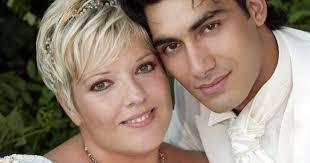 mariage de laurence boccolini laurence boccolini et mari mickaël le jour de leur mariage