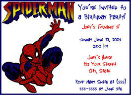 spider man printable birthday invitation u2013 orderecigsjuice info