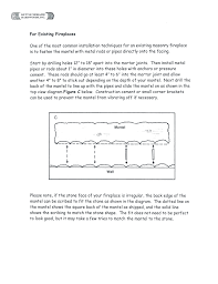 Fireplace Installation Instructions by Installation Instructions Kettle Moraine Hardwoods Inc