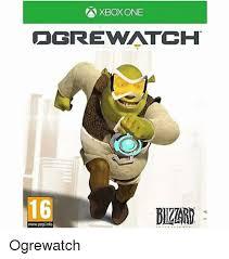 Xbox One Meme - xbox one ogrewatch 16 bizzard wwwpegiinfo xbox one meme on sizzle