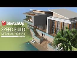 rev黎ement mural cuisine tutorial sketchup 2016 create modern house model