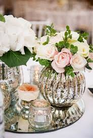 Big Glass Vases For Centerpieces by Best 25 Mercury Glass Centerpiece Ideas On Pinterest Mercury