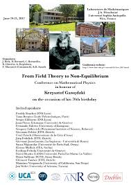 mathematical physics from field theory to non equilibrium
