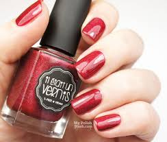 my polish stash 24 days of christmas the perfect red for the