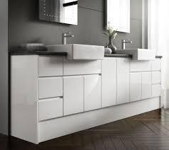 Bathroom Vanity Units Online Liverpool White Handless Gloss Bathroom Vanity Units All Sizes