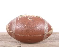 vintage football football decor old football antique