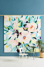 mint wall art wall mirrors wall decor anthropologie picturesque florals mural