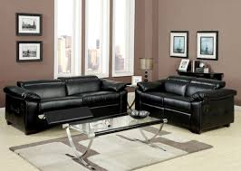 Black Leather Sofa Recliner Leather Reclining Sofa And Loveseat And Brown Bonded Leather Match