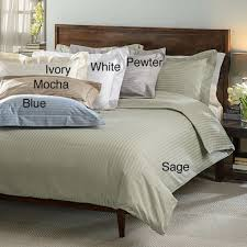 what thread count is good egyptian cotton stripe 600 thread count 3 piece duvet cover set