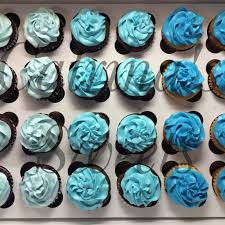 baby boy shower cupcakes 3 tone cupcakes for baby boy shower cakes baby boy
