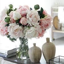 artificial flower arrangements acrylic water faux flower centerpiece acrylic water arrangement
