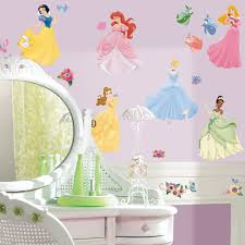 decoration disney princess wall decals home decor ideas