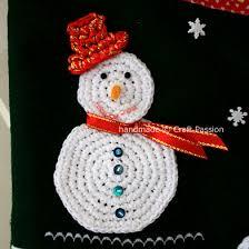 snowman free crochet pattern craft