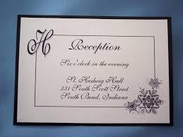 wedding invitation reception wording