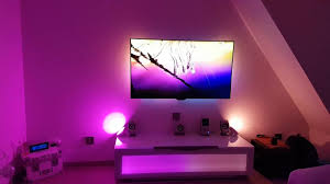 philips hue bloom accent light philips ambilight 3 x lightstrip 3 x bloom hue in hd youtube