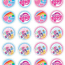 my pony cupcake toppers best edible cupcake toppers products on wanelo